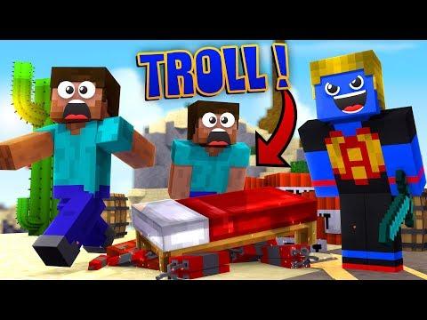 Minecraft: TROLLANDO O SERVIDOR COM TNT | Afreim