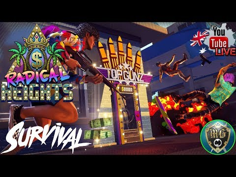 🔴 RADICAL HEIGHTS 🔴 Another Free PUBG Clone