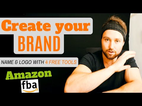 How to Create a Brand on Amazon – Come Up with Amazon FBA Brand Names and Logo Design in 10 min