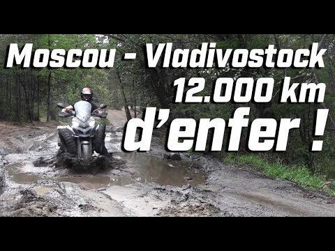 ROAD TRIP ► MOSCOU / VLADIVOSTOCK 12000 KM EN DUCATI 1200 MULTISTRADA ENDURO ► lolo cochet moto