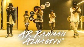 Azhagiye - AR Rahman dance | Sudhan Choreography | BFAB