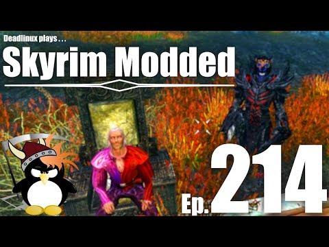 Hacking the Pelagius Wing!! - Skyrim Modded Ep 214