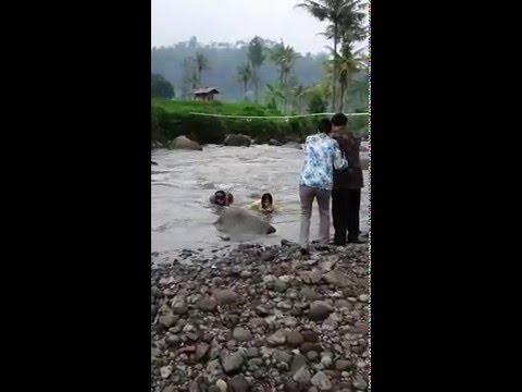 FUNNY VIDEO HARDI FADILLAH DAN NADYA DI SUNGAI..