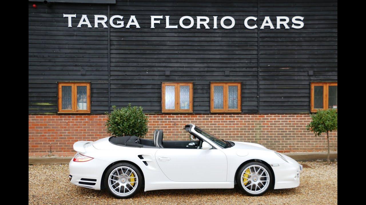 Porsche 997 Turbo S Pdk Cabriolet For Sale At Targa Florio