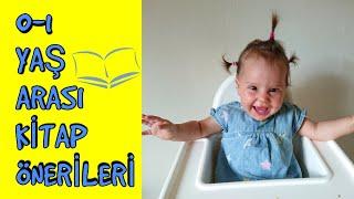 Bebekler icin kitap onerileri / 0-1 yas kitap secimi