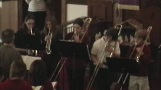O Come, All Ye Faithful - Burnt Hills Brass Kickers - SUMC - 2009-12-20 Service - 2 - Hymn