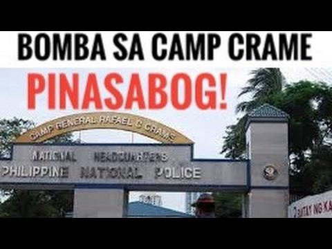 BOMBA SA CAMP CRAME PINASABOG!