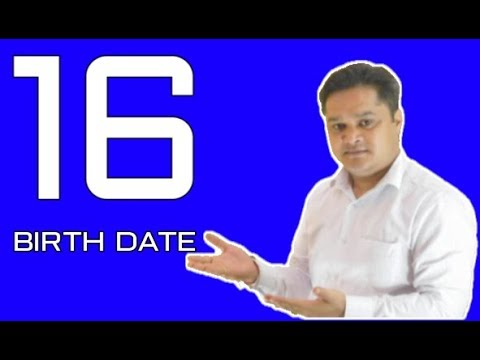 numerology date of birth 16