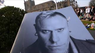 The Prodigy - Raise The Roof - Keith Flint's Funeral - Bocking -  Essex - UK - 29/03/2019