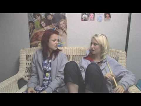 E4 Skins   Kathryn Prescott and Lily Loveless  Part 1