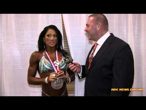 Candice Keene Figure 2nd Place 2014 Olympia Interview