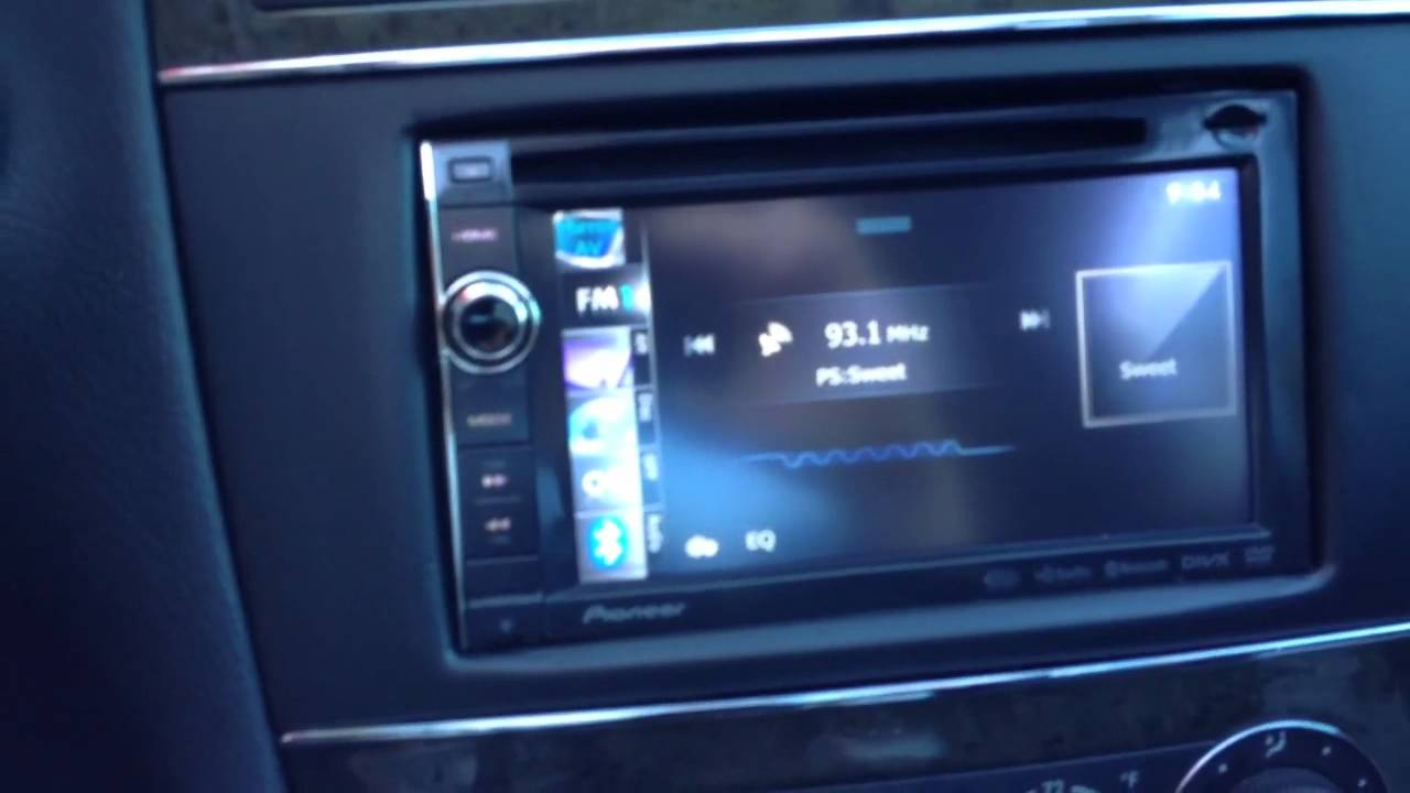 2007 mercedes benz c class navigation upgrade pioneer ipod iphone [ 1280 x 720 Pixel ]