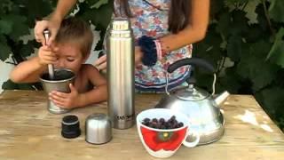 Чай из плодов шиповника видео рецепт UcookVideo.ru