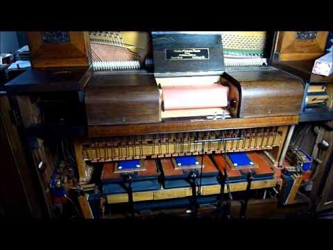 Welte-Mignon Kabinett playing Liszts Etude No 3 Campagnella, pb F. Busoni