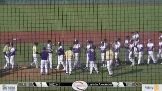 Mchi vs laredo alexander baseball regional quarterfinals game 3