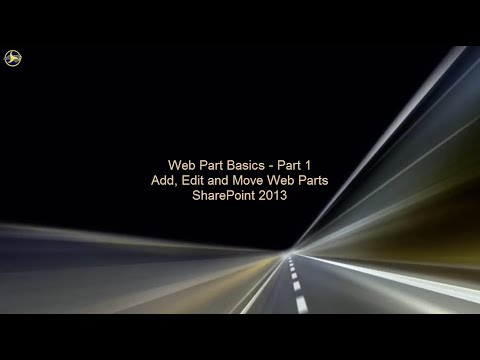 Web Part Basics in SharePoint 2013 - Part 1