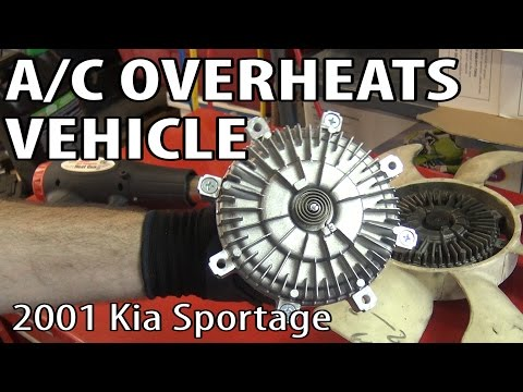 Sportage Cooling Fans Replace