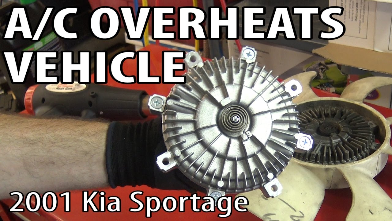 Sportage Cooling Fans Replace Youtube 2005 Kia System