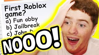 sai davvero Roblox? QUIZ IMPOSSIBILE ROBLOX!