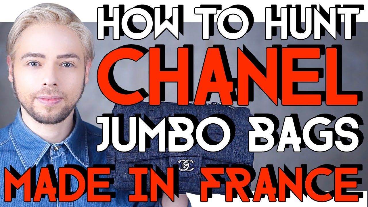 6b116181951 HOW TO HUNT CHANEL JUMBO BAGS made in France - YouTube