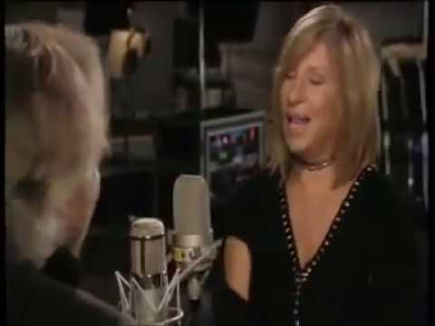 Barbra Streisand And Barry Gibb -- New Duet