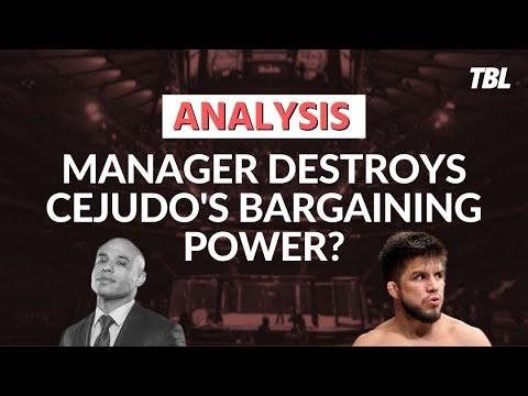 Did Ali Abdelaziz ruin Henry Cejudo's bargaining power in