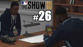 STARING DOWN MY MANAGER! | MLB The Show 18 | Road to the Show #26