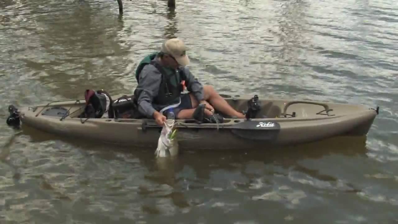 Hobie fish the world kayak fishing part 2 youtube for Hobie fishing kayak