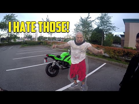 Buff guy hates Harleys