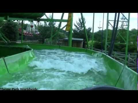 Wild River Rapids On Ride HD POV Lightwater Valley