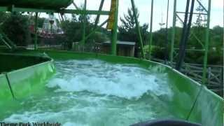 Wild River Rapids On Ride POV - Lightwater Valley