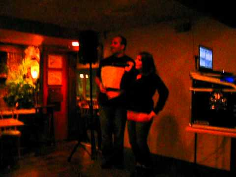 David Habit @ The Crab's Claw Inn - Karaoke 2012  - Dave and Jen Leigh Singing My Humps