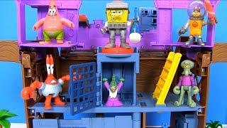 Губка Боб Квадратные Штаны #Мультфильм SpongeBob Видео для Детей! Спанч БОБ Kids Video
