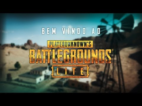 Tutorial PUBG Lite | Mostrando o Game thumbnail