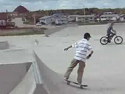 Dryden's Skateboard Park!