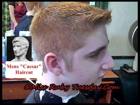 Miss ruby tuesday mens caesar haircut youtube solutioingenieria Choice Image