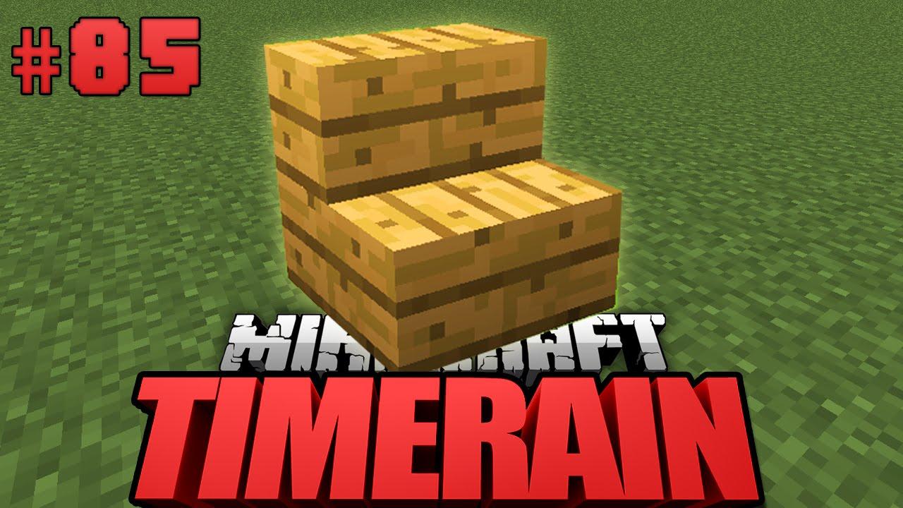 Das Spiel Mit Den Treppen Minecraft Timerain DeutschHD - Minecraft timerain spielen