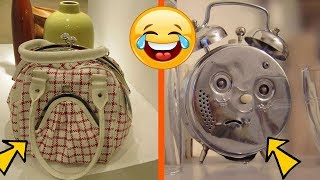 You Really Can't Stop Laughing: Funny Faces Hidden In Everyday Stuff (Funny Pics)