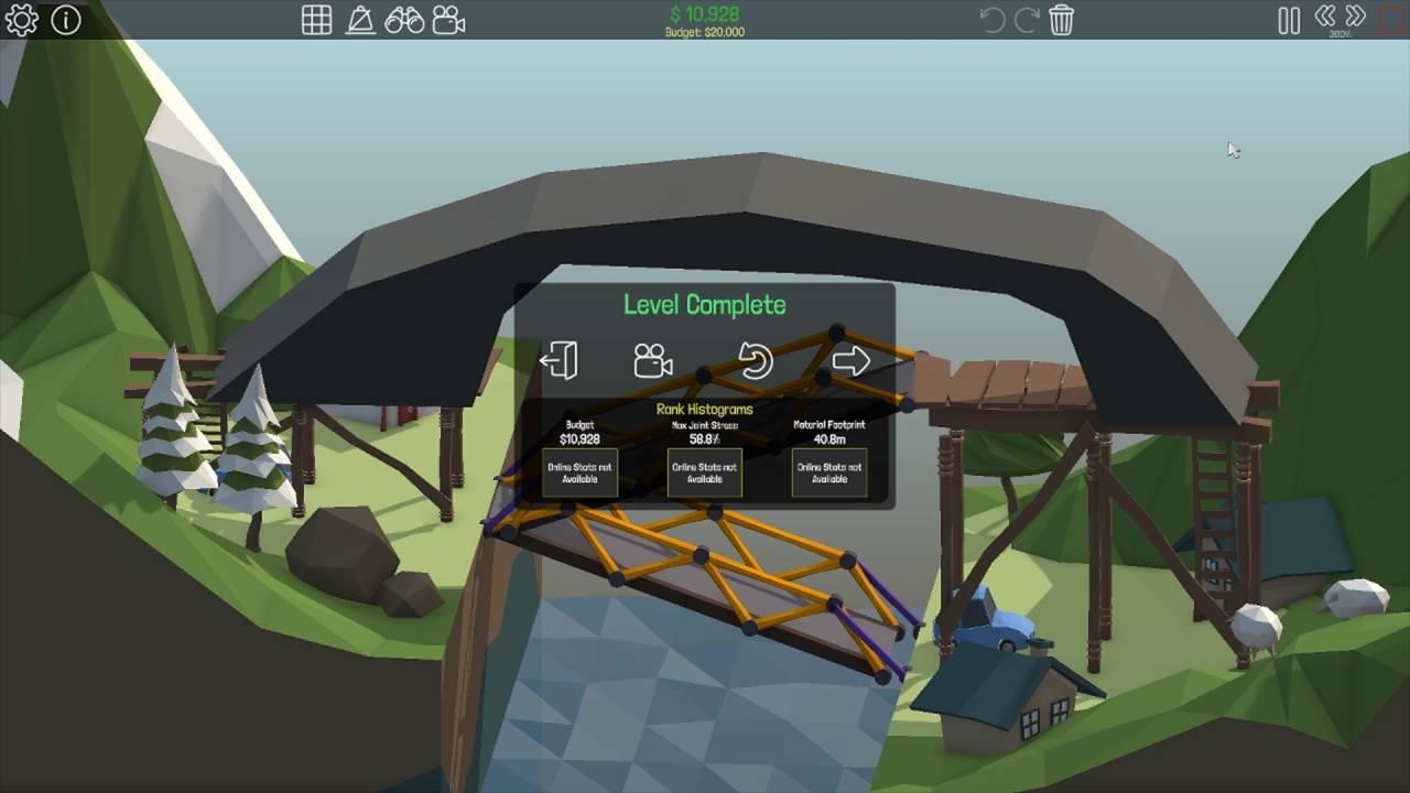 poly bridge 3 solutions easy elevator 1 15 youtube. Black Bedroom Furniture Sets. Home Design Ideas