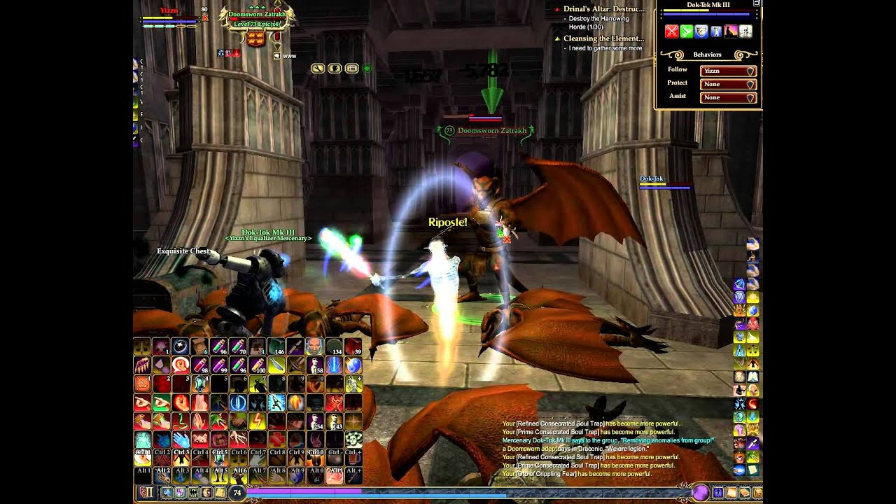 EQ2 Yizzn Fitzz the low DPS Monk ^^ does Vyemm and some more Nameds -  YouTube