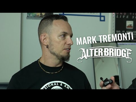Mark Tremonti Names His Favorite Guitarists On YouTube (Alter Bridge)