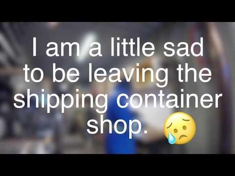 Knife shop update vlog