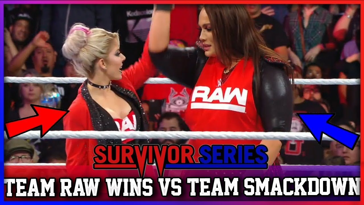 Women's 5 on 5 Traditional Survivor Series Elimination Match (WWE SURVIVOR SERIES 2018 RESULTS)