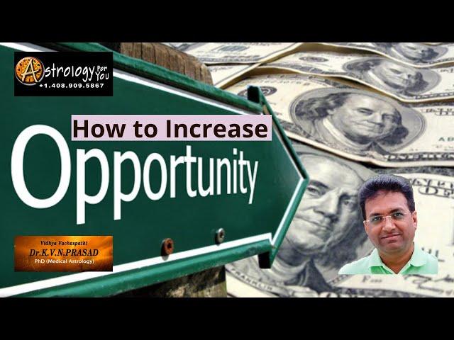 How to Increase Opportunities/Finance? Dr.KVN Prasad, PhD (Astrology) #vastu #vastutips
