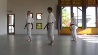Kanku Sho Kata Team Maier, Schnitzlein, Schenk