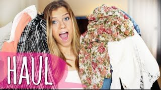HUGE Spring Clothing Haul 2014! ❁ Forever 21, Urban Outfitters, Topshop & More