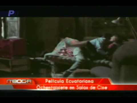 Película Ecuatoriana Ochentaisiete en sala de cines