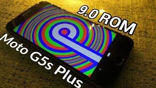 Moto G5s Plus: Android 9.0 PIE ROM with Moto Camera!