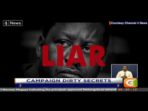 British firm linked to dirty campaign against Odinga