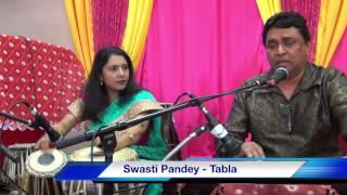 Swasti Pandey39;s Tabla accompaniment on Bhajan  Hari Narayanam by Vinod Chetty